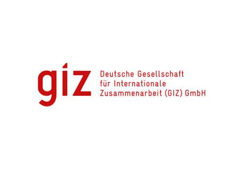 giz Deutsche Gesellschaft für internationale Zusammenarbeit
